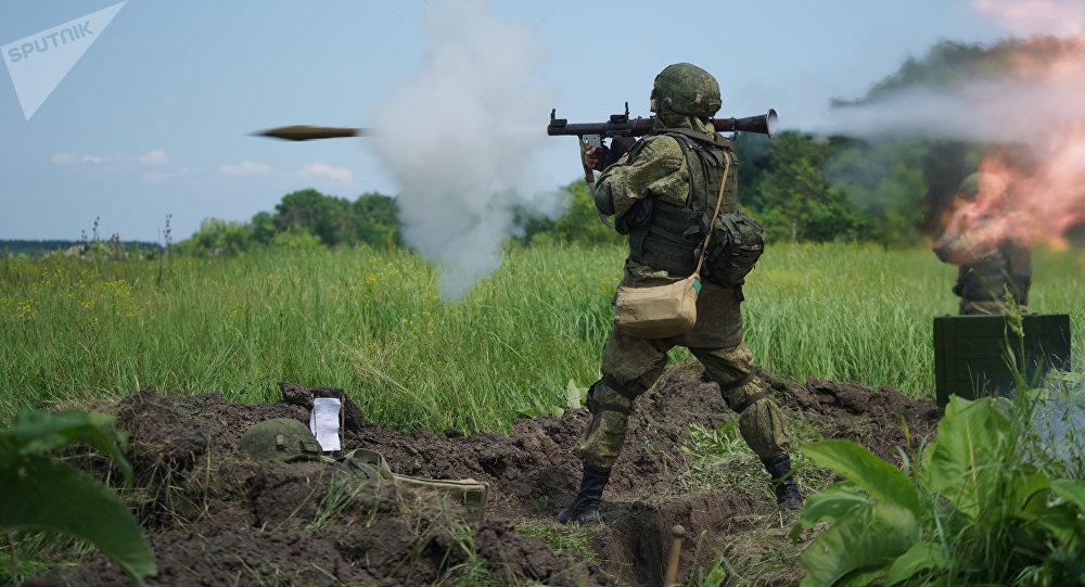 Un militar ruso