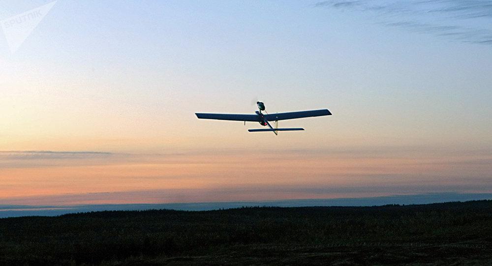 Un dron ruso (archivo)