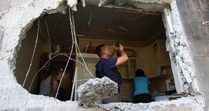 La situación en Donbás (archivo)