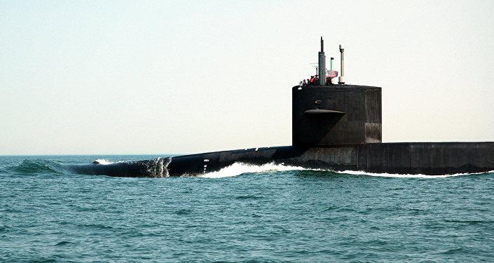 Un submarino nuclear estadounidense (archivo)