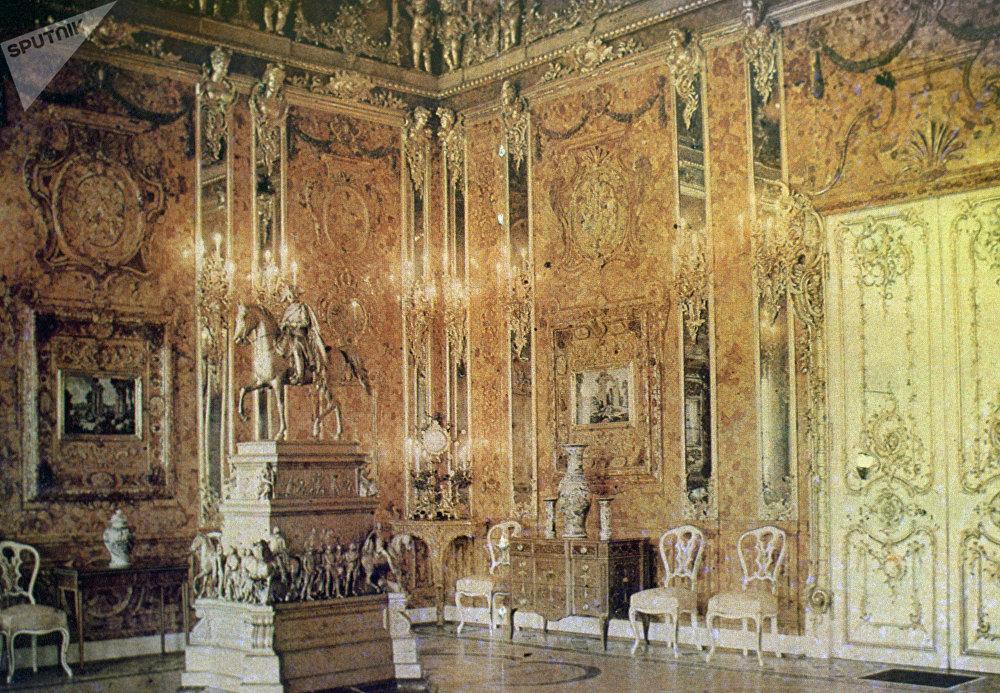 La Cámara de Ámbar en los años 30 (imagen referencial)