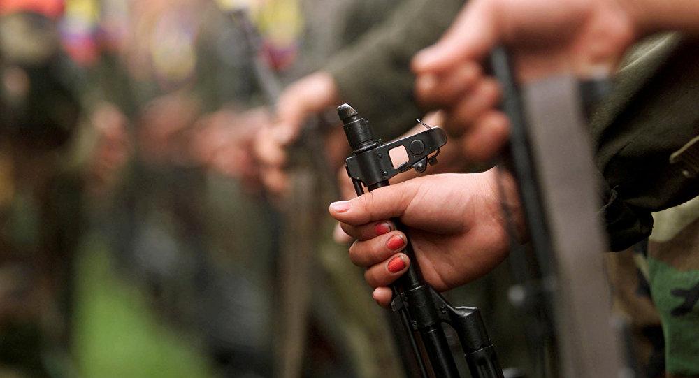 Las armas de las FARC (archivo)