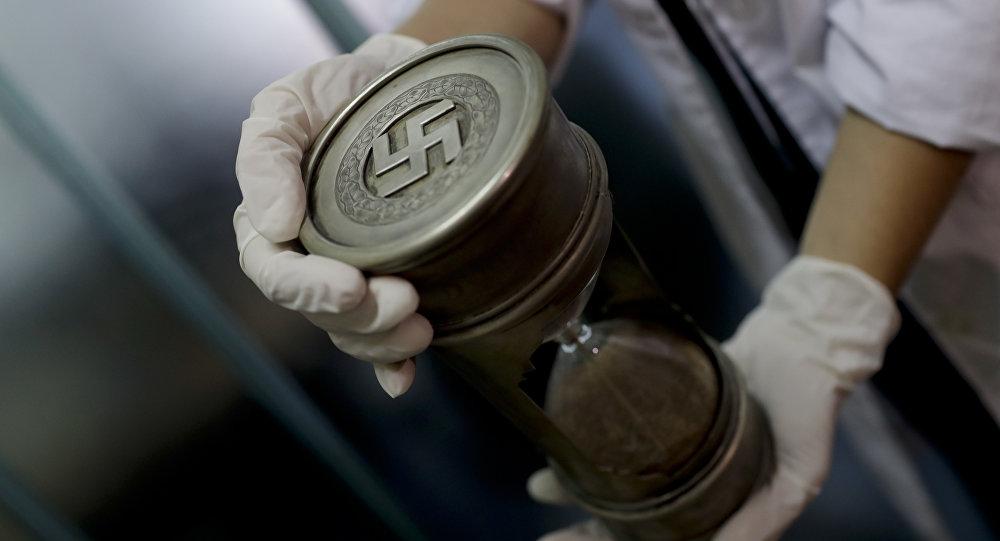 Artefactos con simbología nazi encontrados en Argentina en junio de 2017