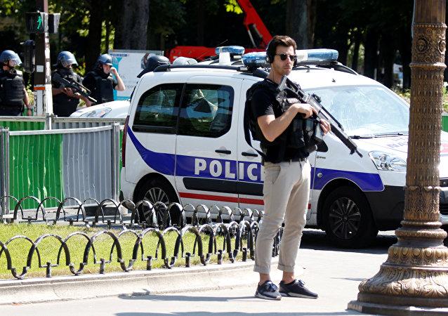 La policía francesa (archivo)