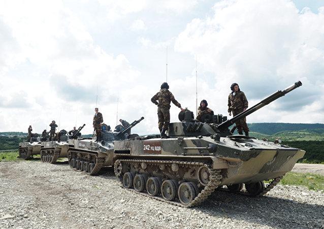 Soldados de las FFAA de Rusia (archivo)