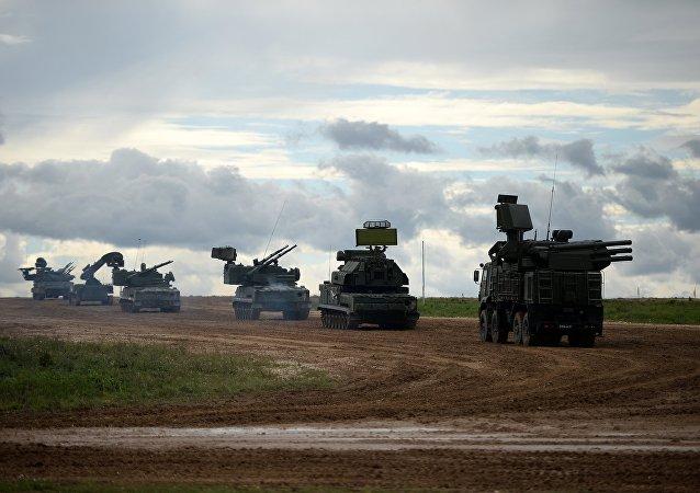 Misiles antiaéreos Tor-M2
