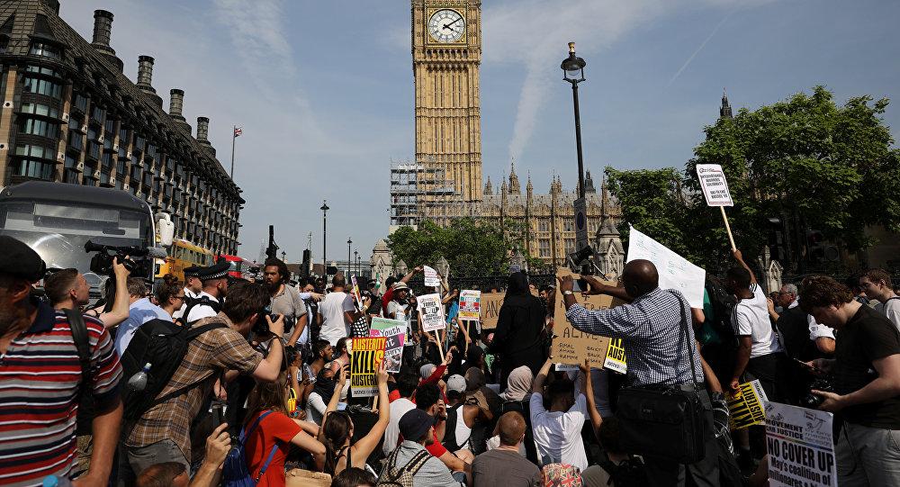 Día de la rabia en Londres, Reino Unido
