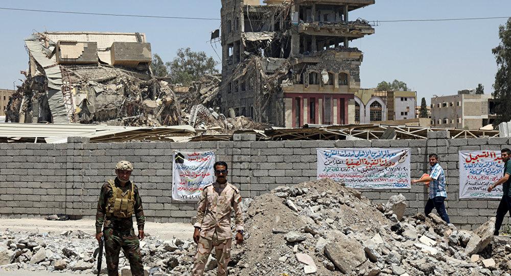 La fuerzas iraquíes en Mosul (archivo)