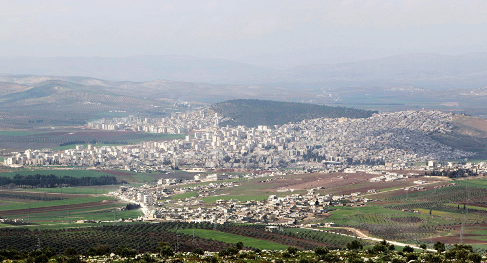 La ciudad siria de Afrin