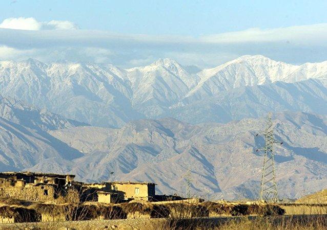 Montañas  vistas desde Pakistán