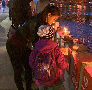 Moscú conmemora el aniversario de la Gran Guerra Patria encendiendo 1.418 velas
