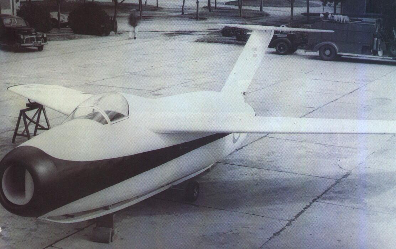 Primer prototipo del Pulqui II
