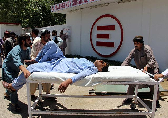 Un herido tras el ataque en Lashkar Gah, Afganistán