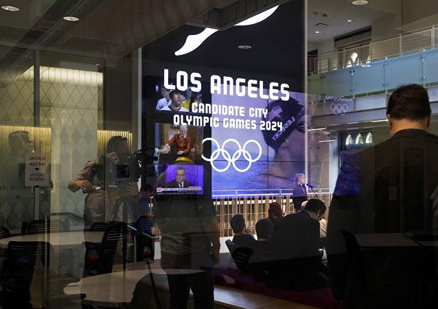 Presentación de Los Ángeles como sede de los Juegos Olímpicos 2024