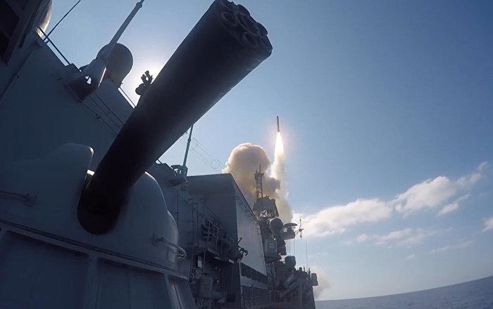 Los terroristas, contra las cuerdas: los misiles de crucero de Rusia diezman a Daesh