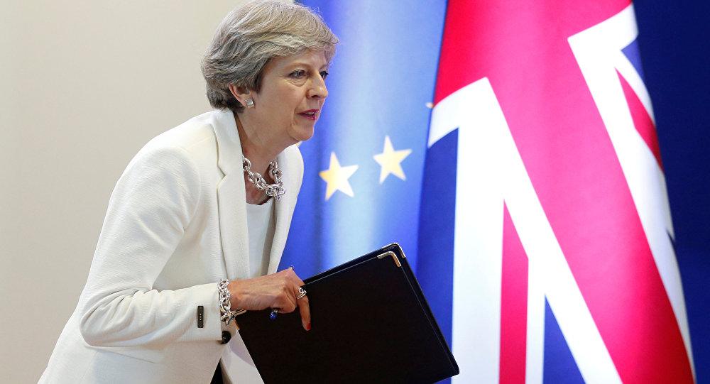 Theresa May, primera ministra británica (archivo)