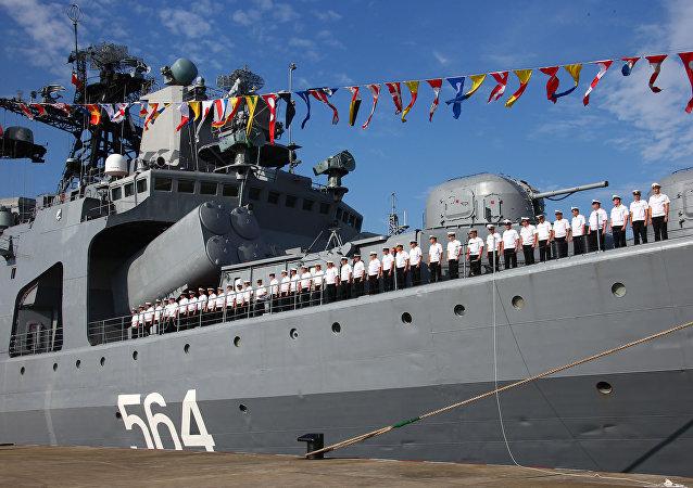 Maniobras ruso-chinas Cooperación Marítima (Archivo)