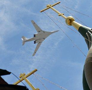 El bombardero estratégico Tu-160 (archivo)