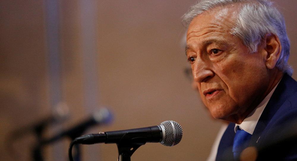Heraldo Muñoz, exministro de Exteriores de Chile (archivo)