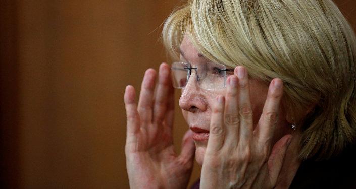 Luisa Ortega, exfiscal general de Venezuela
