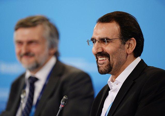 Mehdi Sanai, embajador de Irán en la Federación Rusa