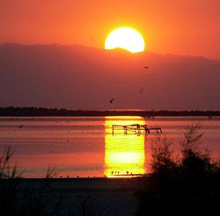 La puesta del Sol en el estado de California (imagen referencial)