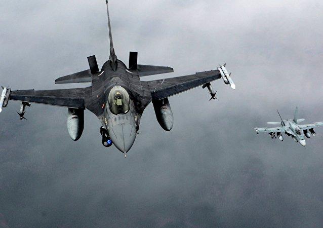 Cazas F-16 de la OTAN