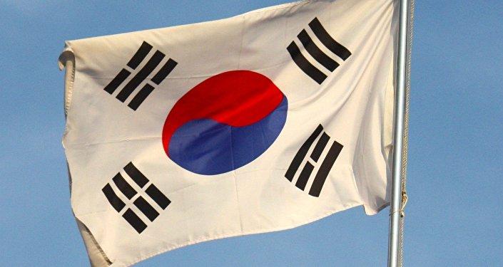 Bandera de Corea del Sur (archivo)