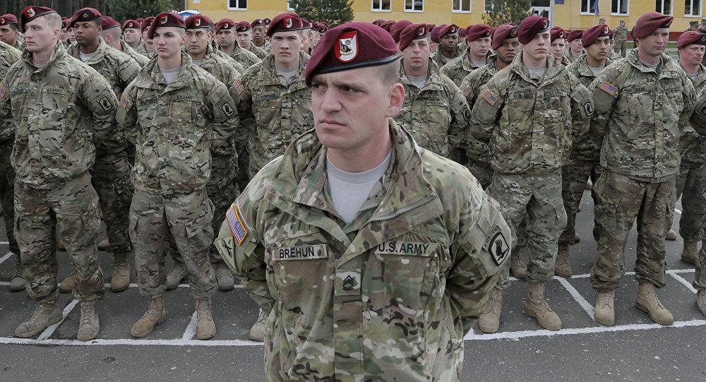 Soldados estadounidenses en Ucrania (archivo)