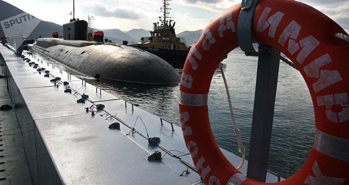 Submarino nuclear estratégico del proyecto Boréi