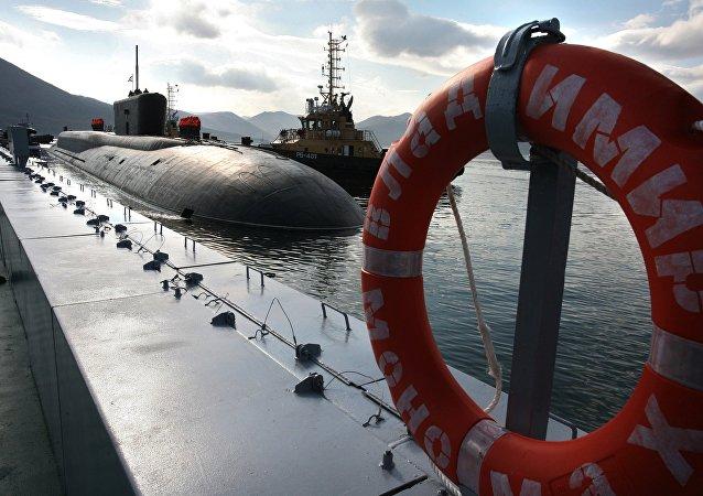 Submarino nuclear estratégico del proyecto Boréi (archivo)