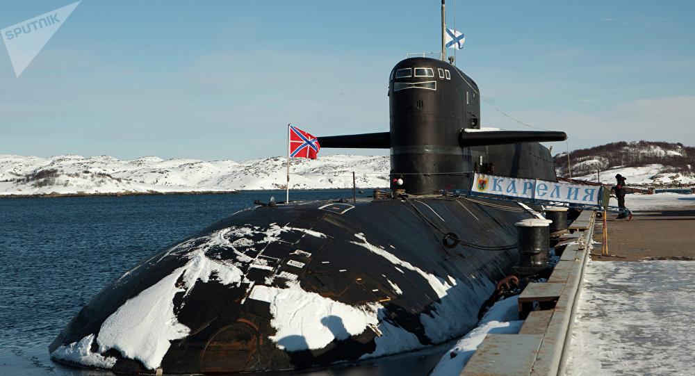 Submarino estratégico atómico (archivo)
