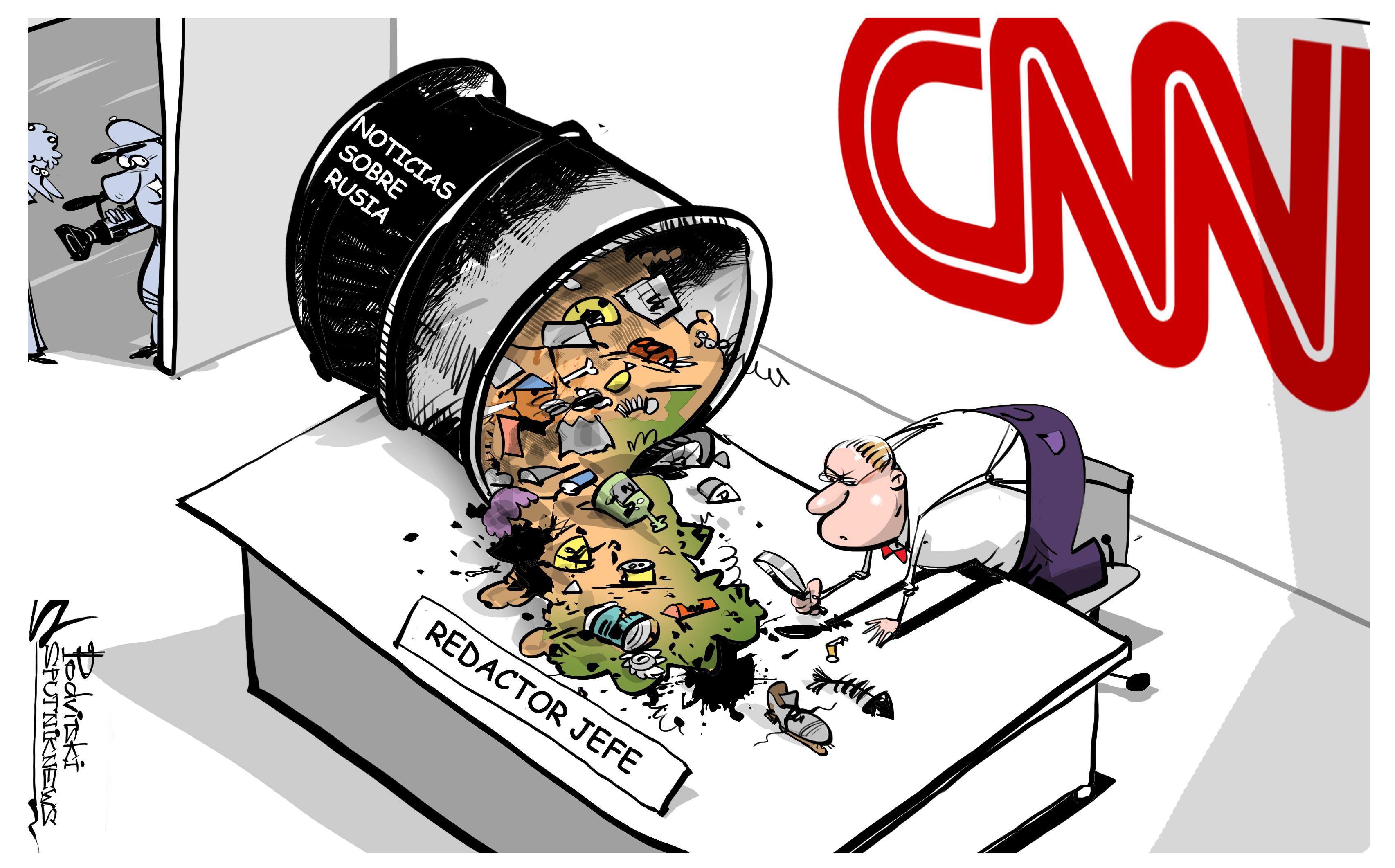 CNN: control de la información con Rusia bajo la lupa