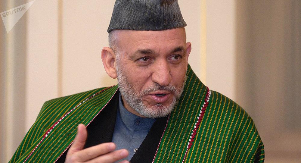 Hamid Karzai, expresidente de Afganistán (archivo)