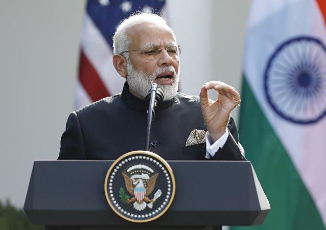 Primer ministro de la India, Narendra Modi