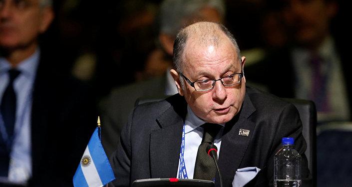 Jorge Faurie, nuevo ministro de Relaciones Exteriores de Argentina