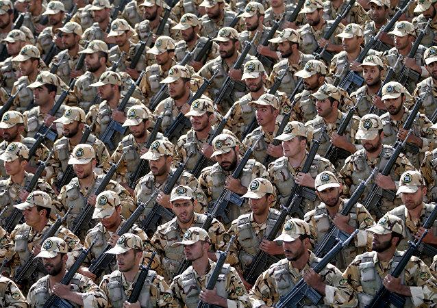 El Ejército iraní