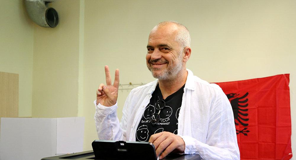 Edi Rama, líder del Partido Socialista de Albania