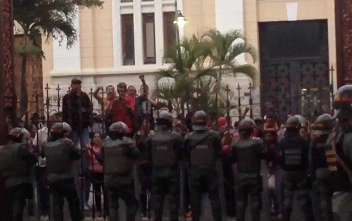 Ecuador condena ataque armado en venezuela sputnik mundo for Ministerio de relaciones interiores espana