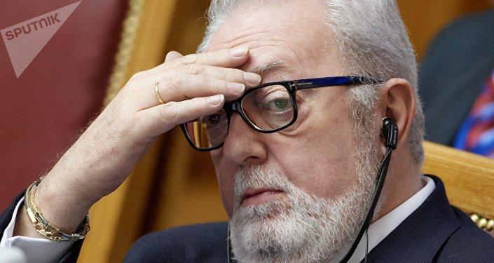 Pedro Agramunt, el expresidente de la PACE