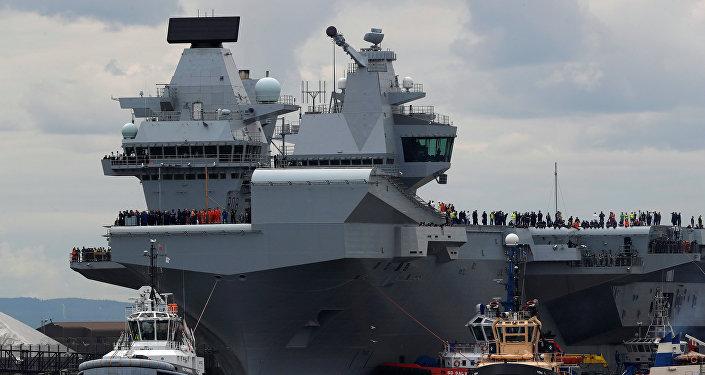 El portaviones Queen Elizabeth