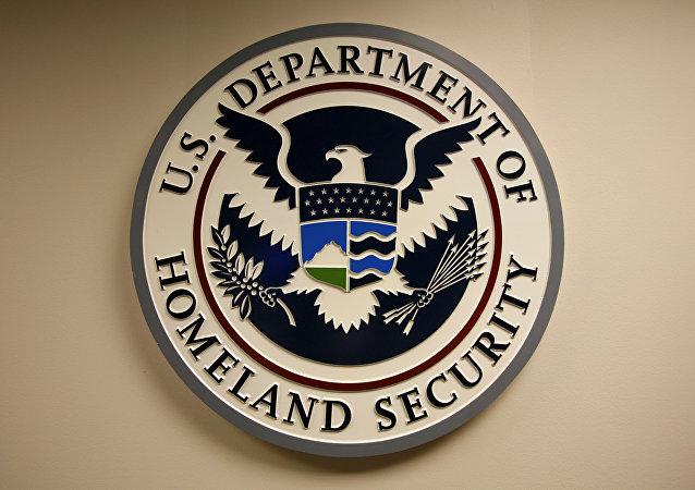 Logo del Departamento de Seguridad Interna de EEUU