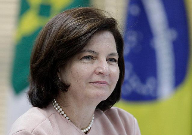 La fiscal general de Brasil, Raquel Dodge