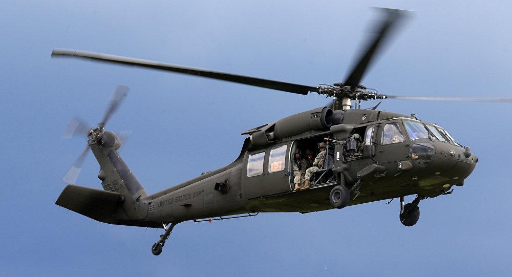 Helicóptero Black Hawk  DE eeuu (archivo)