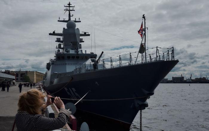 Las joyas del Salón Naval Internacional de San Petersburgo