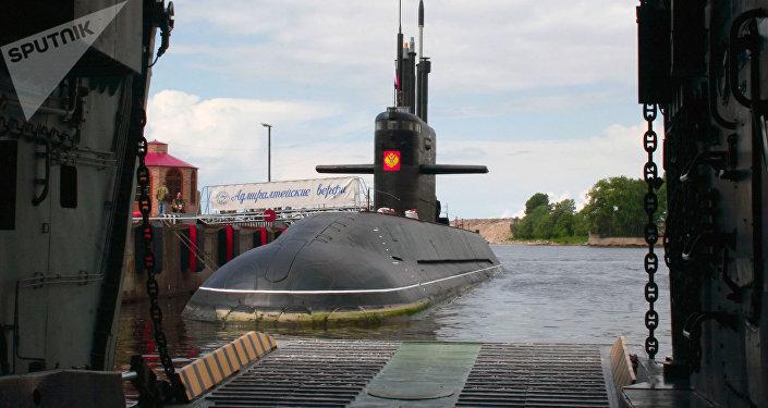 Sankt Peterburg, submarino diésel-eléctrico de la clase 677 Lada