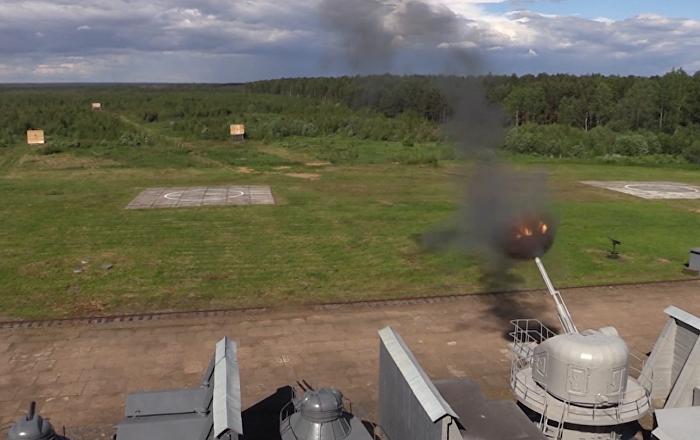 Así son los innovadores cañones de la Armada rusa