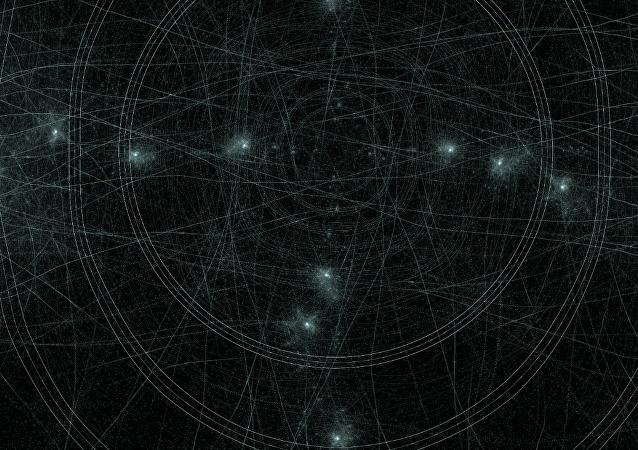 Un agujero negro (ilustración)