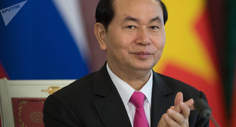 Tran Dai Quang, el presidente de Vietnam (archivo)