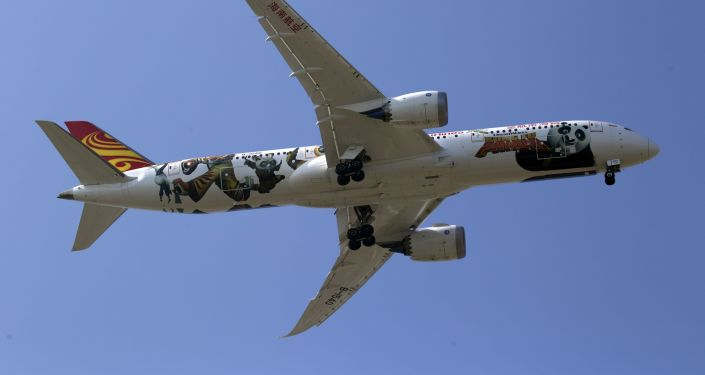 Boeing 787 (imagen referencial)
